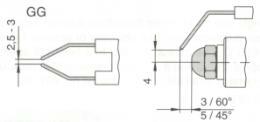 Ηλεκτρόδια καυστήρα